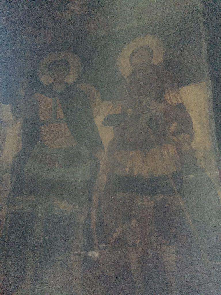 Kirche-Malereien
