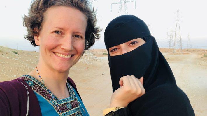 Saudi-Frau