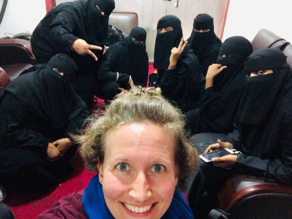 Niqab-Selfie