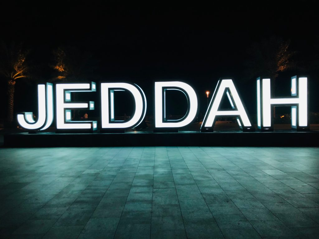Jeddah-Sign