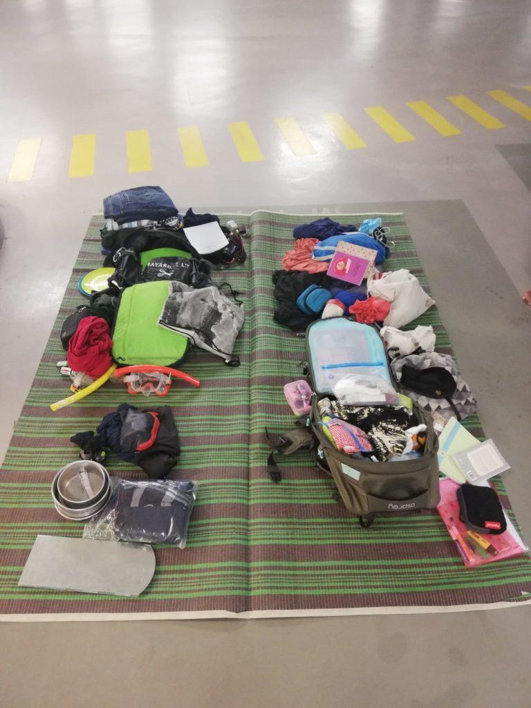 rucksack-packen